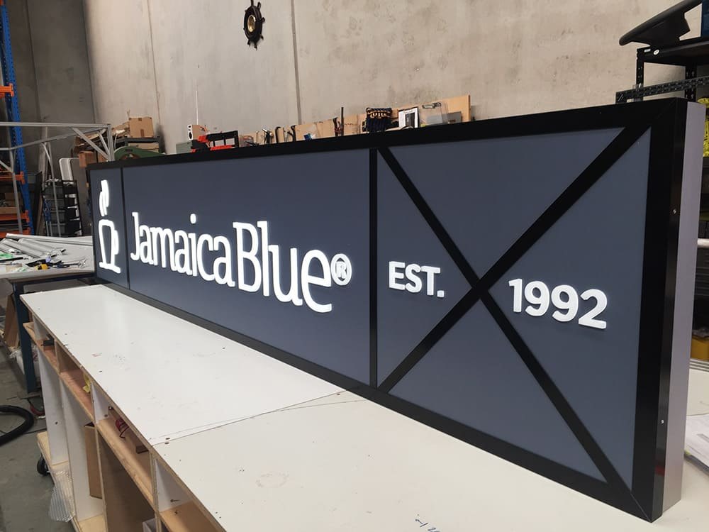Jamaica Blue Modular System being built at our workshop in Melbourne