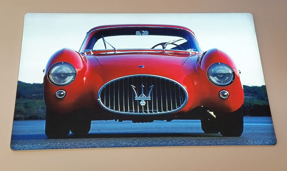 Red Maserati car
