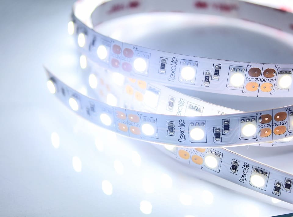 LED Strips on a flexible tape